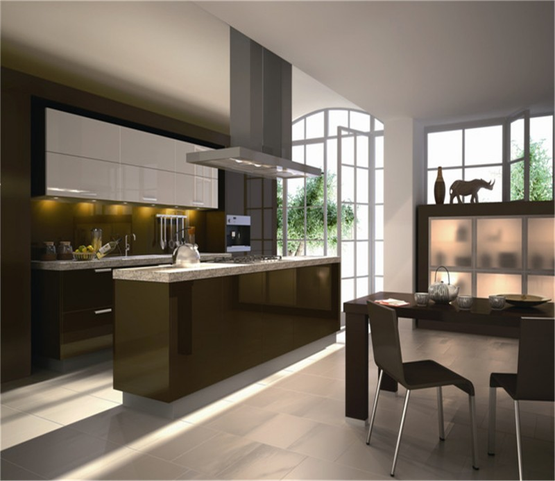 high gloss kitchen cabinet whole sets