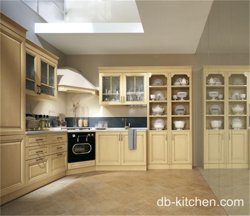 Off White Elegant PVC Classic Kitchen Cabinet. Loading Zoom