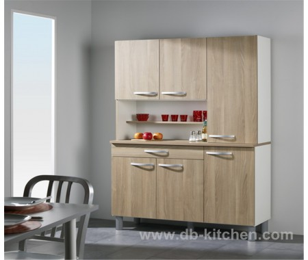 small individual melamine kitchen cabinet