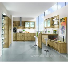solid wood custom kitchen cabinet design