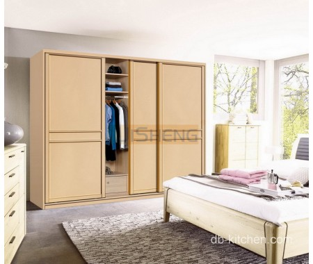 melamine sliding door wardrobe design