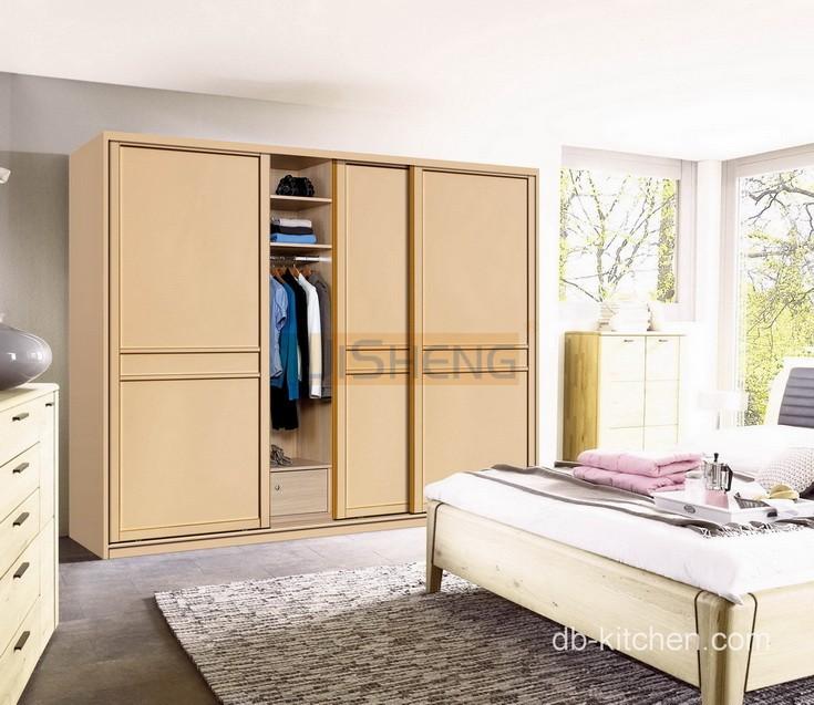 Melamine sliding door wardrobe design - Kitchen wardrobe designs ...