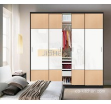 Uv high gloss sliding door wardrobe