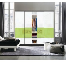 white wardrobe sliding door design