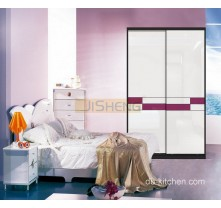 uv high gloss wardrobe sliding door