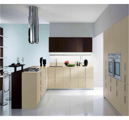 cream color kitchen cabinet high gloss