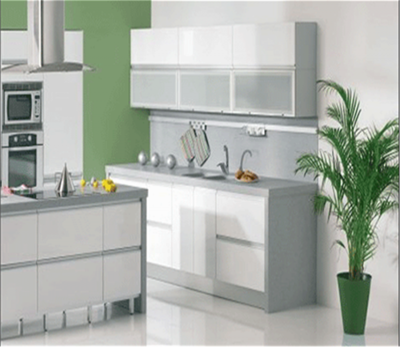 High Gloss White Kitchen Cabinet