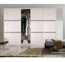 high gloss sliding door wardrobe