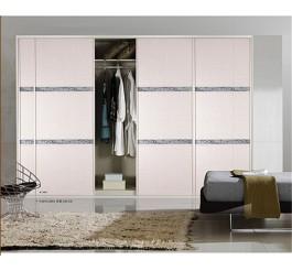 ... Wooden 3 Doors Wardrobe Closet Fitted Bedroom Wardrobes