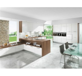 high gloss plywood kitchen cabinet furniture design