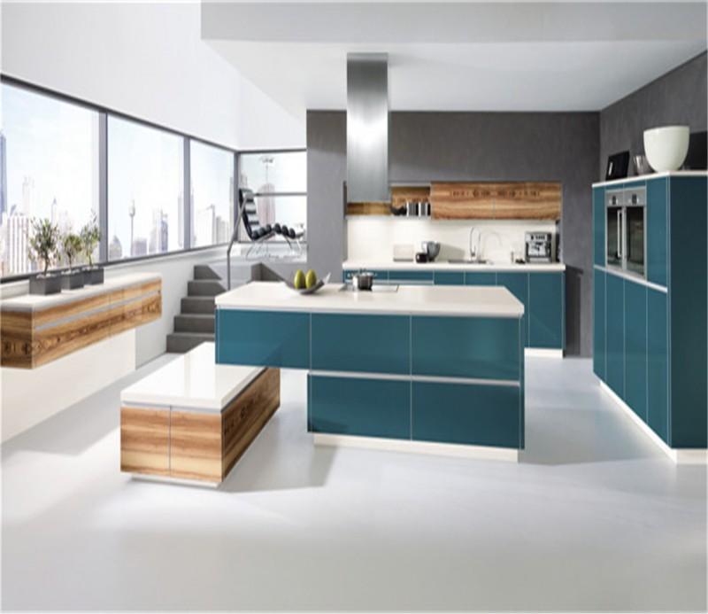 High gloss kitchen cabinet furniture design for Kitchen cabinets 700mm high