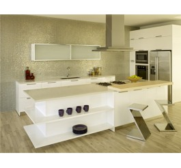 home use high gloss kitchen cabinet