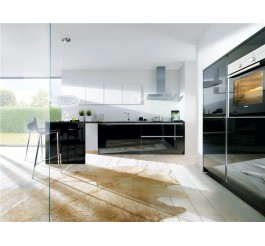 high gloss plywood kitchen design