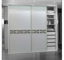 uv high gloss sliding door wardrobe cabinet