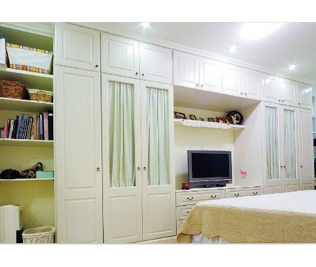 high gloss plywood wardrobe cabinet