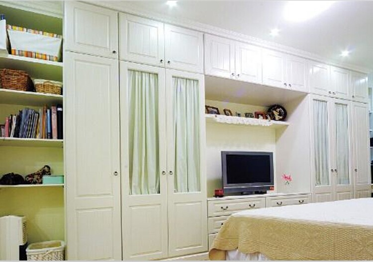 High gloss plywood wardrobe cabinet for Kitchen wardrobe cabinet
