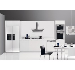 PVC white kitchen cabinet design set