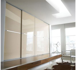 home use melamine wardrobe sliding door,