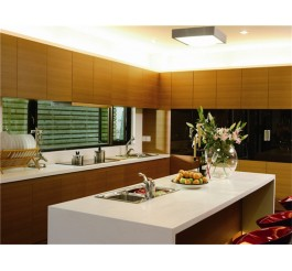 melamine finish particle board kitchen cabinet design
