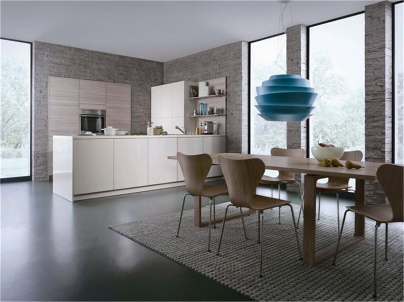 uv high gloss mdf kitchen cabinet design