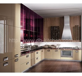China High Gloss Acrylic Kitchen Cabinets