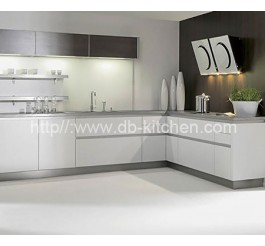 Plywood White Acrylic Kitchen Cabinet