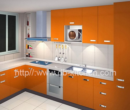 Custom Make High End Acrylic Kitchen Cabinet