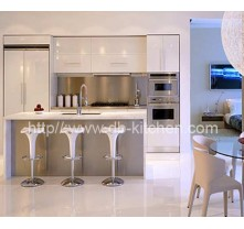 Mini Small High Gloss Acrylic Kitchen Cabinet Design