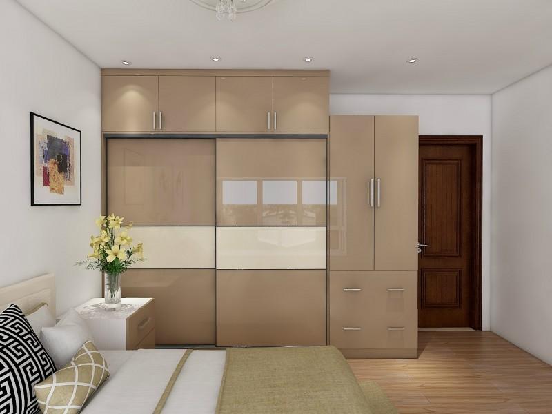 color bination Bedroom wardrobe design