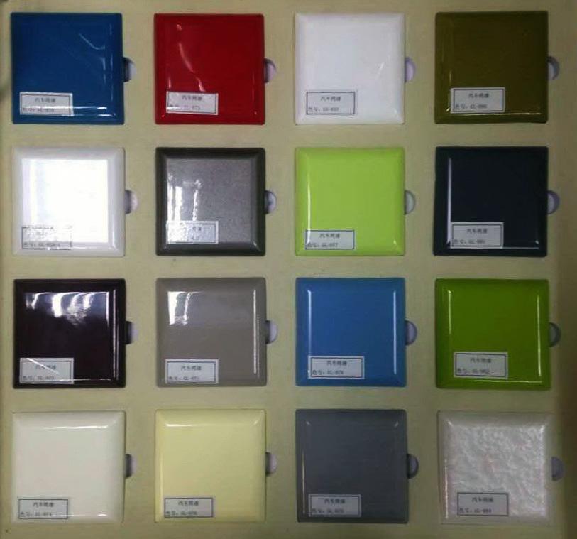 lacquer color sample