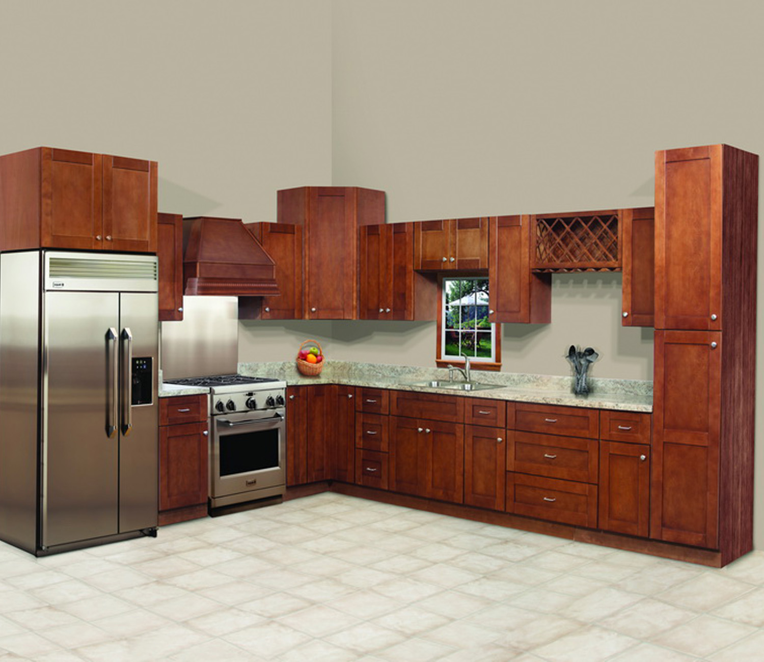 Canadian kitchen cabinet