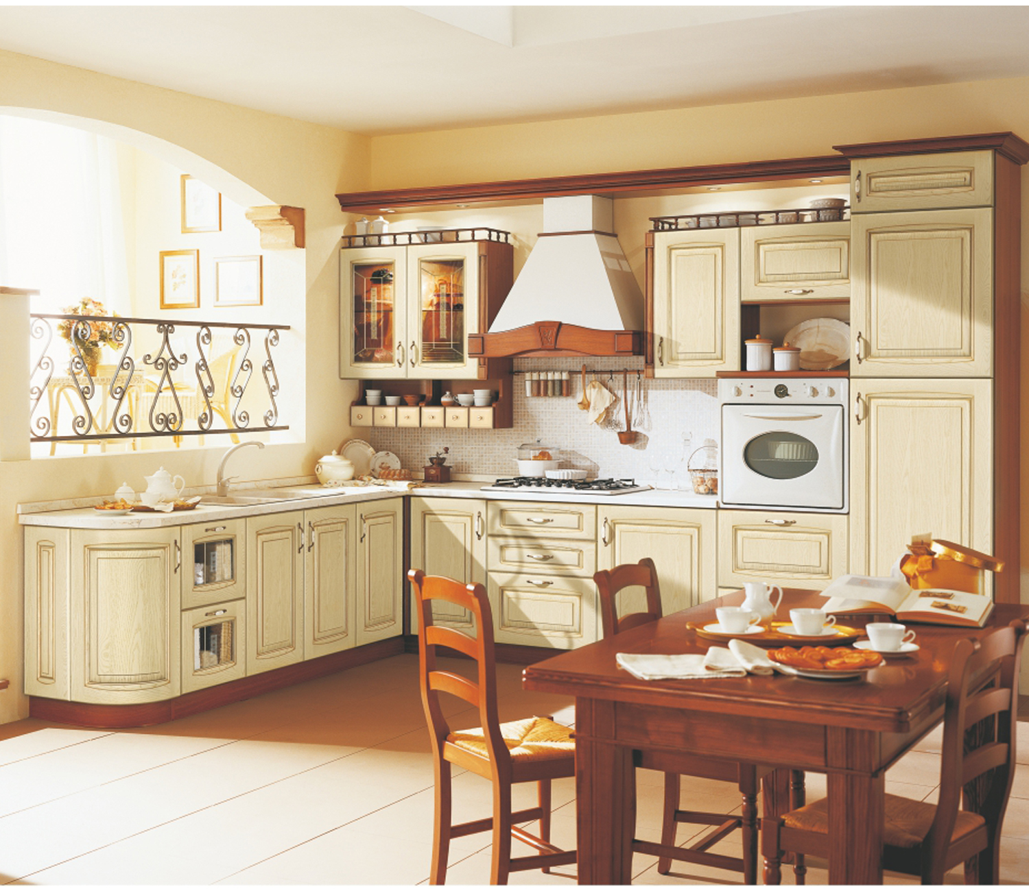 Russian Style Kitchen Cabinet-China Kitchen Caibnet Supplier