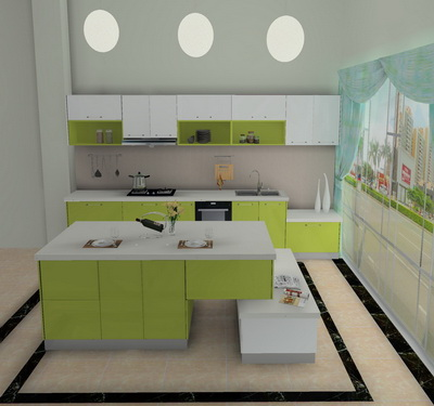 casual style kitchen
