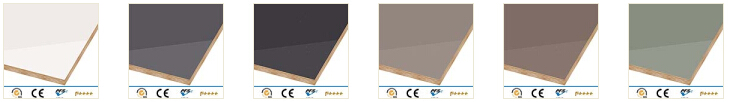 high gloss grey kitchen cabinets color