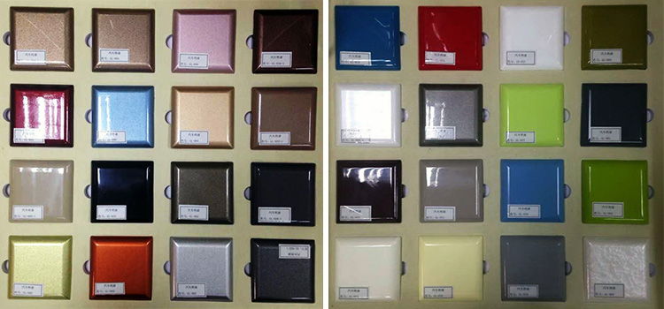 Kitchen Cabinet Door Color. Color Sample